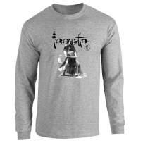 Death Dealer Sketch Frank Frazetta Fantasy Art Sport Grey L Full Long Sleeve Tee T-Shirt