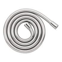 hansgrohe Handheld Shower Replacement Shower Hose Easy Install Replacement 1-inch Modern Shower Hose in Chrome, 28276003