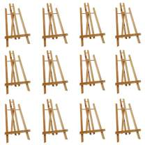 """Mont Marte Tabletop Display Easel 15.7"""" Tall, Wood Paint Easel of 12 Packs for Artists, Students&Kids"""
