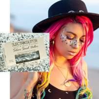 Biodegradable Glitter Chunky Glitter for Festivals. Eco Friendly Body Glitter for Hair Glitter, Nail Glitter, Face Eyeshadow glitter, Rave accessories, Holographic glitter makeup (Silver Glitter)