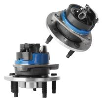 SCITOO Compatible with Both(2) Wheel Hub Bearing Front Fits Oldsmobile Alero Pontiac Grand Am 5Lug 513137 X 2