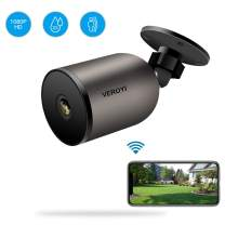 Veroyi Outdoor Security Camera 1080P WiFi IP Home Surveillance Camera with 2 Way Audio, IP66 Waterproof, FHD Night Vision, Motion Detection Compatible with iOS/Android Systems
