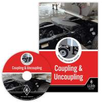 Coupling & Uncoupling: Driver Training Series English DVD Training Video - J. J. Keller - Helps Drivers Understand Techniques That Will Help Them with Safely Coupling & uncoupling Trailers