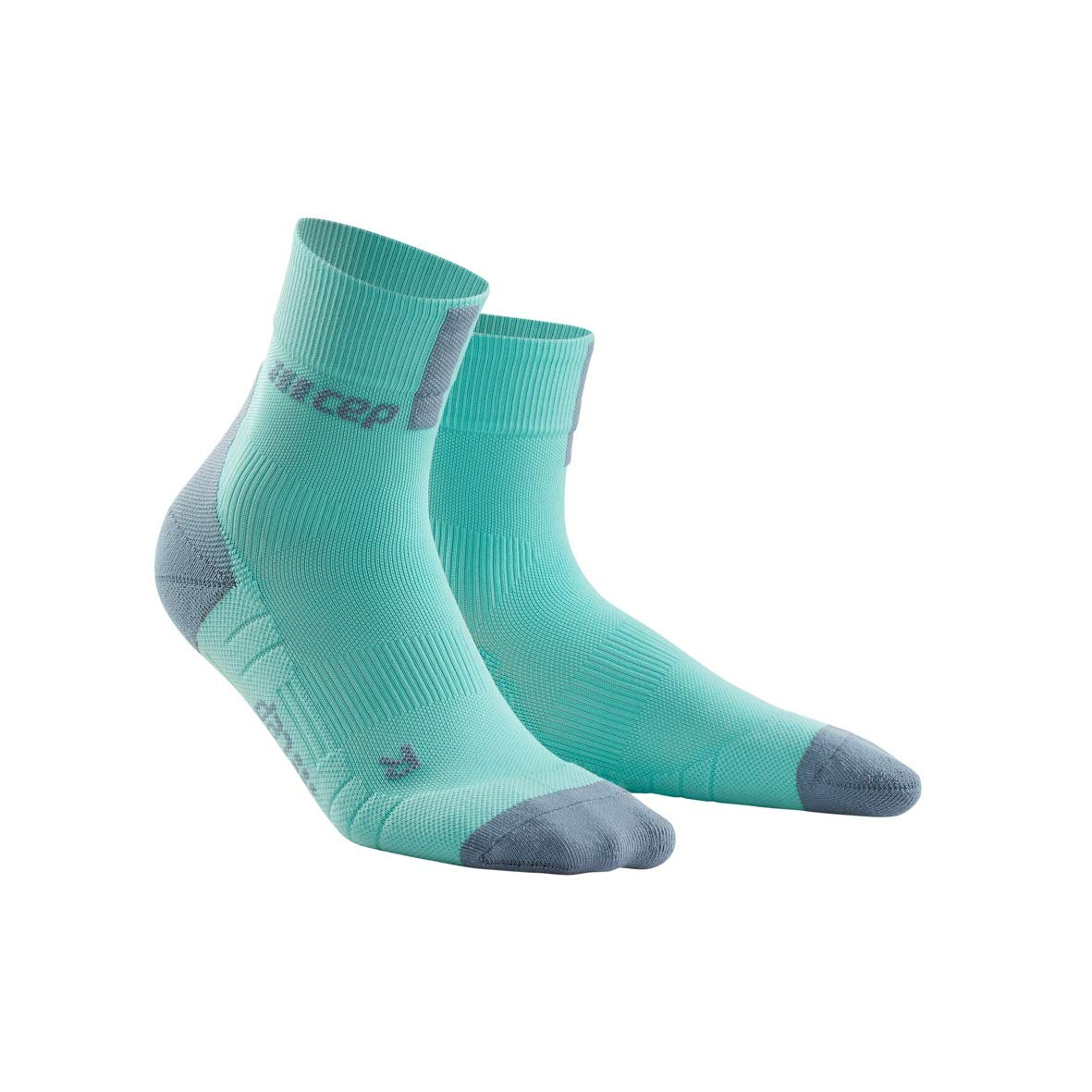 CEP Men's Short Crew 3.0 Compression Running Socks