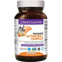 Vitamin C for Immune Support – New Chapter Activated C Food Complex + Organic Non-GMO Ingredients - 180 ct