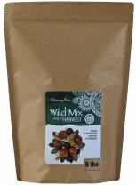 Wilderness Poets Harvest Trail Mix - Raw Wild Mix (Hazelnut, Pumpkin Seed, Cranberry, Golden Raisins, Sunflower Seeds) - 5 lb (80 oz)