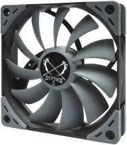 Scythe Kaze Flex 120mm Fan, Quiet Case/CPU Cooler Fan, PWM 300-1200 RPM