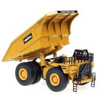 duturpo 1/40 Scale Diecast Heavy Metal Dump Truck, Metal Construction Vehicles Trucks Toys for Boys Kids (Dump Truck)