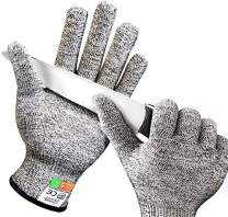 Schwer Cut Resistant Gloves Food Grade Level 5 Protection Safety Work Gloves for Kitchen, Cutting, Garden and Mandolin Slicing (Medium)