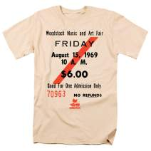 Popfunk Woodstock Music Festival Friday Ticket T Shirt & Stickers