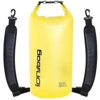 IDRYBAG Clear Dry Bag Waterproof Floating 2L/5L/10L/15L/20L, Lightweight Dry Sack Water Sports, Marine Waterproof Bag Roll Top for Kayaking, Boating, Canoeing, Swimming, Hiking, Camping, Rafting