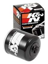 K&N Engineering Black Single K&N KN-303 High Performance Spin On Oil Filter