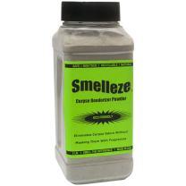 SMELLEZE Natural Corpse Odor Eliminator Deodorizer: 50 lb. Powder Destroys Smell of Death
