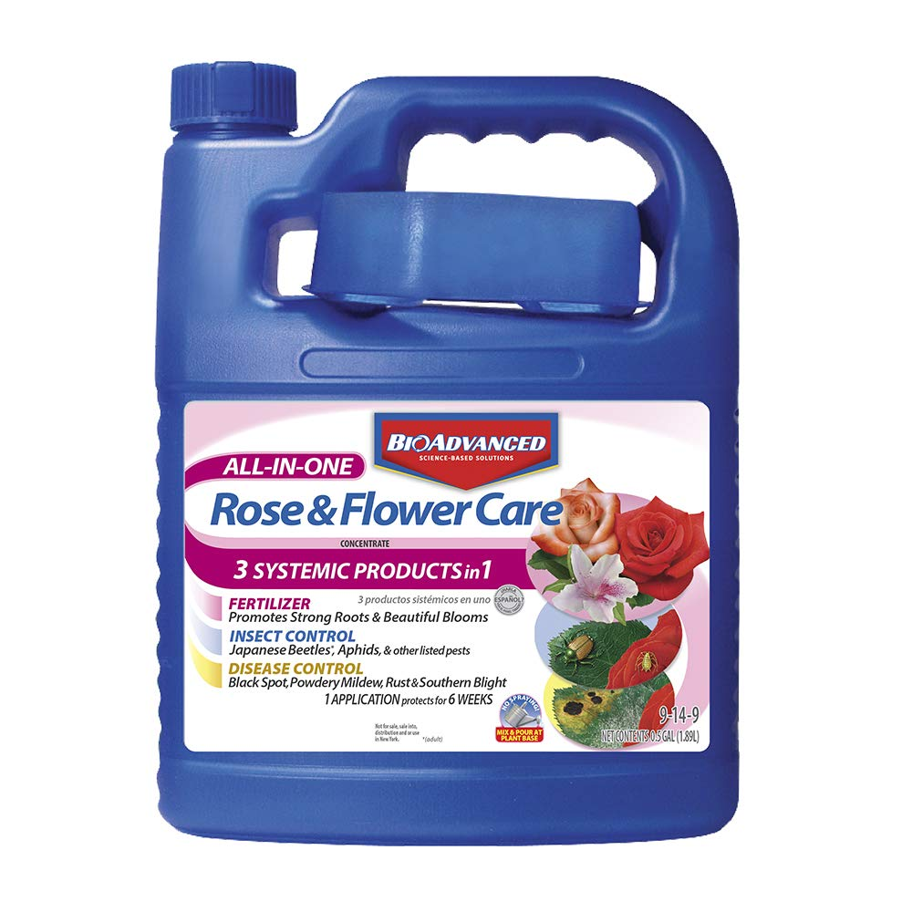 Bayer Advanced 701262 All In One Rose And Flower Care Concentrate 64 Ounce