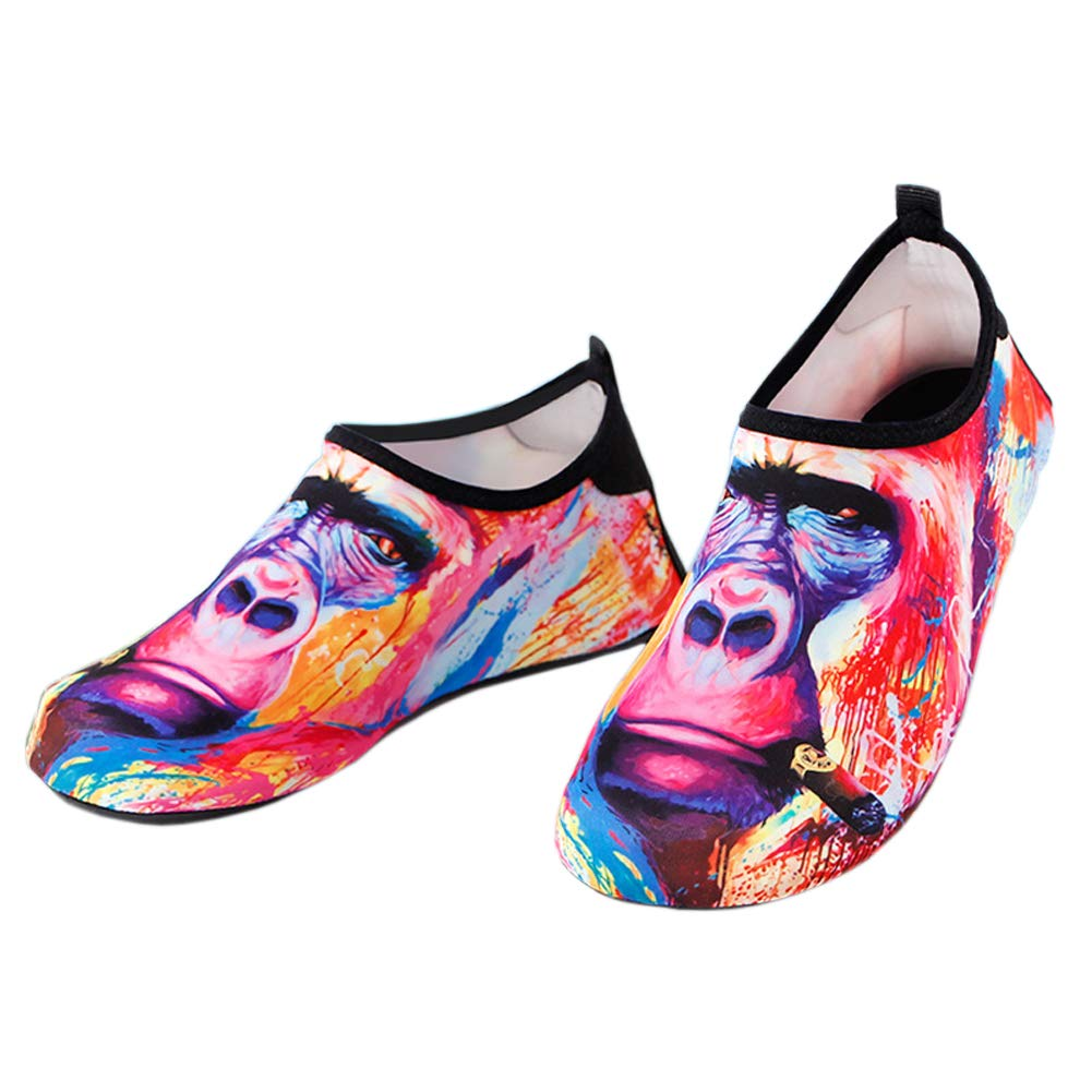 MCERMR Womens Water Shoes Mens Aqua Socks Barefoot Beach Shoes for Swimming Surfing Snorkeling Driving Yoga Pool Exercise