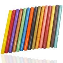 Sealing Wax Sticks, AFUNTA 15 Pcs Glue Gun Sealing Wax Sticks Flexible for Wedding Invitations and Card Envelopes - 15 Colors