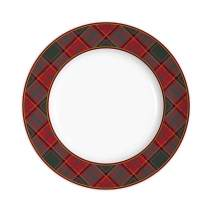 "Spode Christmas 10.5"" Tree Tartan Dinner Plate"