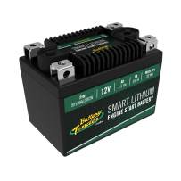 Battery Tender Engine Start Battery: Lithium Motorcycle Battery with Smart Battery Management System (BMS) - 12V 2.5 AH 150 CCA Lightweight Scooter and Motorcycle Starting Batteries - BTL09A150CW