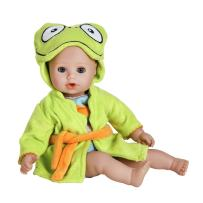 "Adora BathTime Baby ""Frog"" 13"" Fun Kids Bathtub Water / Shower / Swimming Pool Time Play Soft Cuddly Toy Play Doll Toddler Kids & Children 1+"