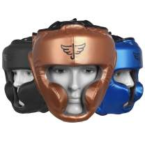 Jayefo Sports Head Guard for Boxing MMA Kickboxing Muay Thai SELF Defence Training Gear Protection Helmet Martial Arts for Youth Men & Women