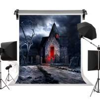 Kate 5x7ft/1.5m(W) x2.2m(H) Halloween Background Haunted House Backdrops Graveyard Creepy Backdrops Photography Studio Prop