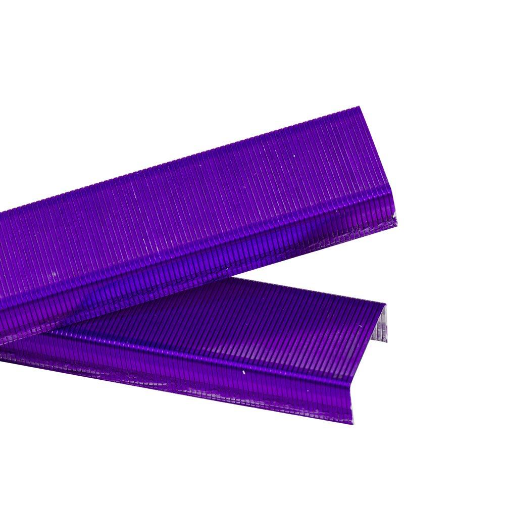 JAM PAPER Standard Size Colorful Staples - Violet Purple - 5000/box