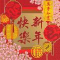 amscan Chinese New Year Red Beverage Napkins, 16 Ct. | Party Tableware