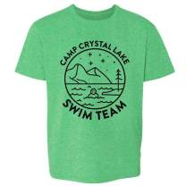 Camp Crystal Lake Counselor Horror Movie Vintage Youth Kids Girl Boy T-Shirt