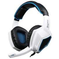 Gaming Headset for PS4 Xbox One Controller,Anivia AH28S 3.5mm Wired Over Ear Stereo Gaming Headphones with Microphone for PC iOS Computer Gamers Smart Phones Mobiles Tablet(Black White)