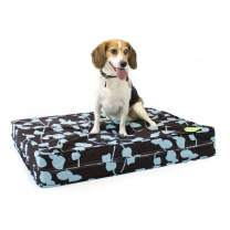 Cardinal & Crest Premium Orthopedic Pet Beds with Cotton Outer Cover and Polyester Filling - Perfect for Small Medium Large Dogs and Cats - Proudly Made in The USA - Multiple Designs/Colors Available