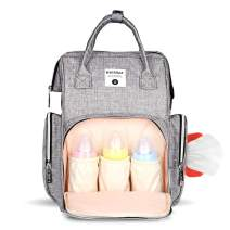 Diaper Baby Bag Backpack Waterproof Large Capacity Insulation Nursing Nappy Bags