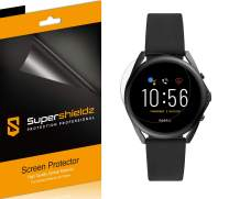 (6 Pack) Supershieldz for Fossil Gen 5 LTE Smartwatch Screen Protector, High Definition Clear Shield (PET)