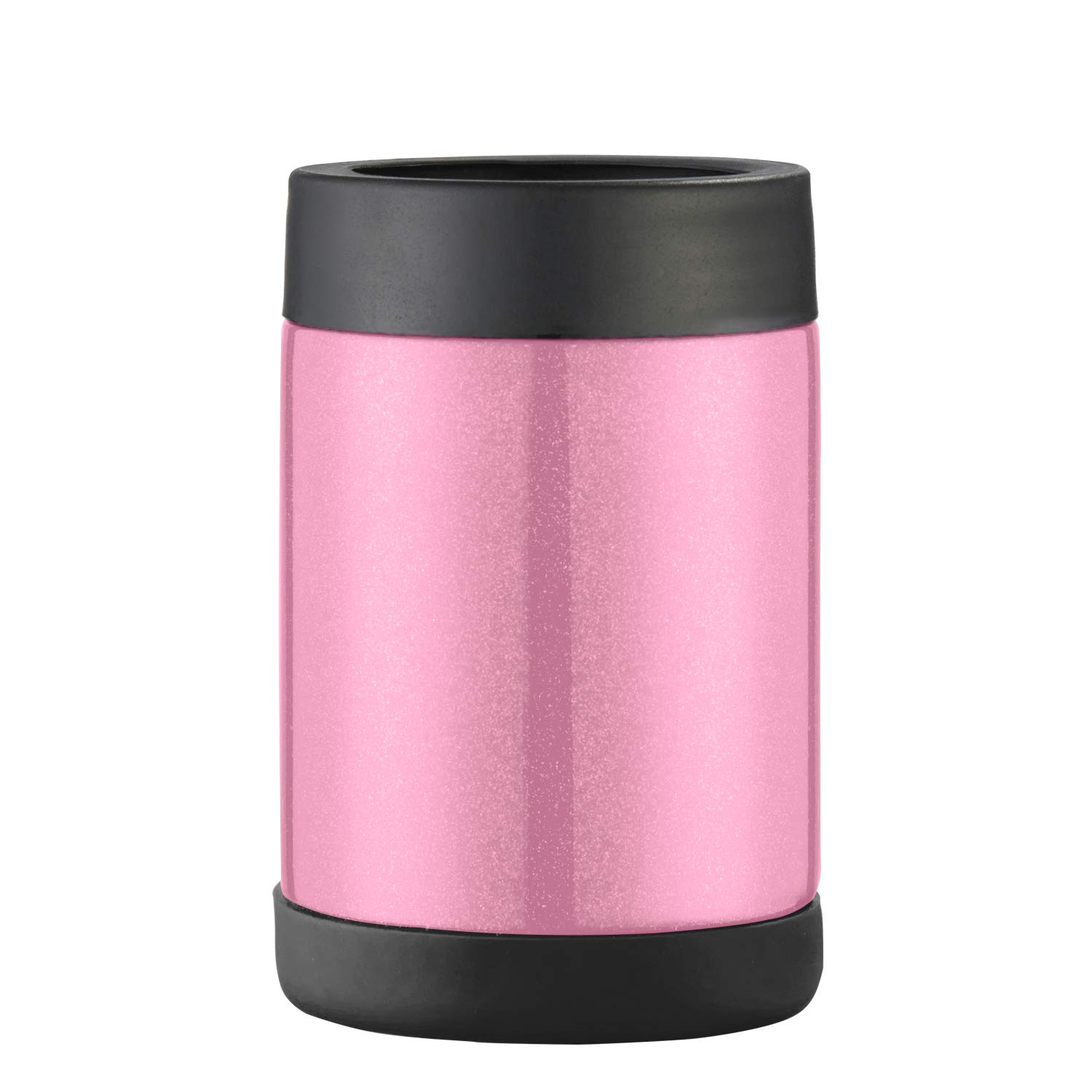 Pretfarver Stainless Steel Double Insulated Can Cooler and Beer Bottle Cooler, 12 Oz Skinny Can Holder for Drink Tumbler Beer Can -Bottle Insulators, Perfect for Tailgating and Parties BPA Free Pink