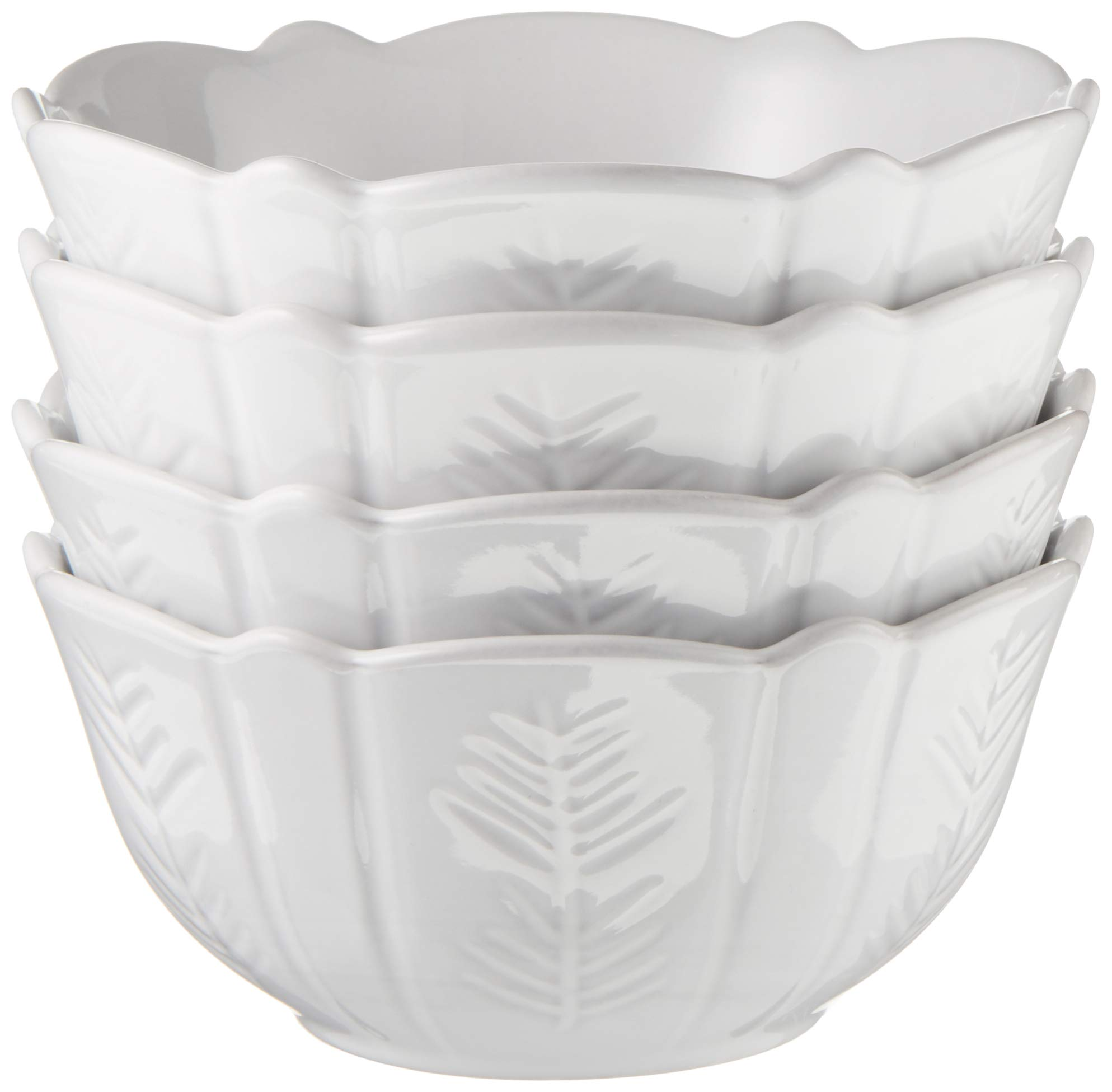 Lenox 879571 Alpine Carved 4-Piece Bowl Set