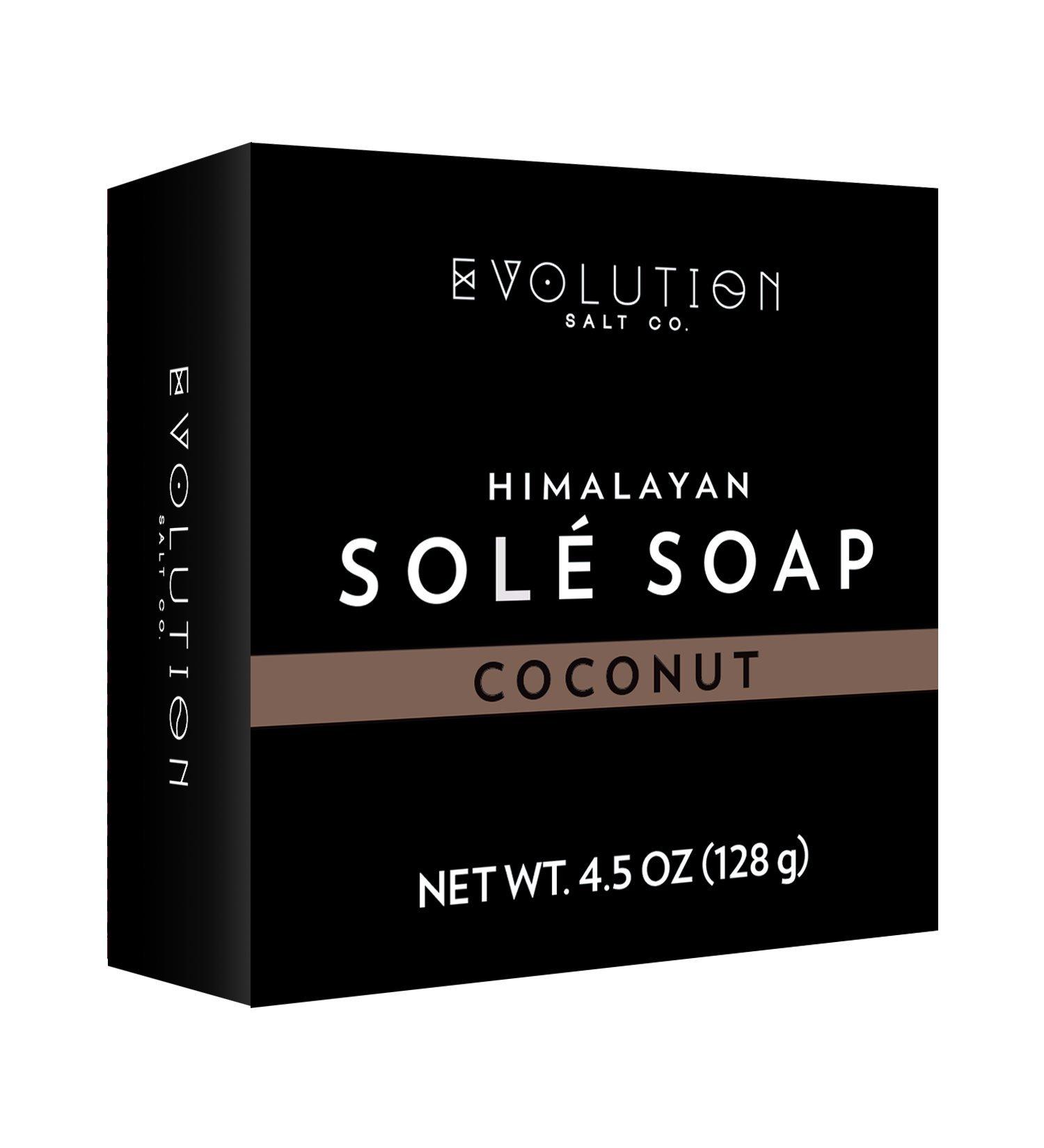 Evolution Salt - Coconut Himalayan Sole Bath Soap 4.5 oz