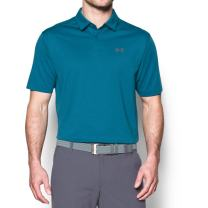 Under Armour Men's CoolSwitch Microthread Polo,Bayou Blue (953)/Graphite, X-Large