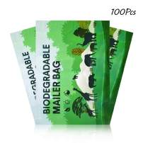 """M&C Music Color 100 Pack Poly Mailers, 10"""" X 13"""" Envelopes Plastic Custom Mailing Shipping Bags, Poly Mailer Envelope with Self Seal Adhesive Strip - Waterproof & Tear-Proof (Animal Forest)"""