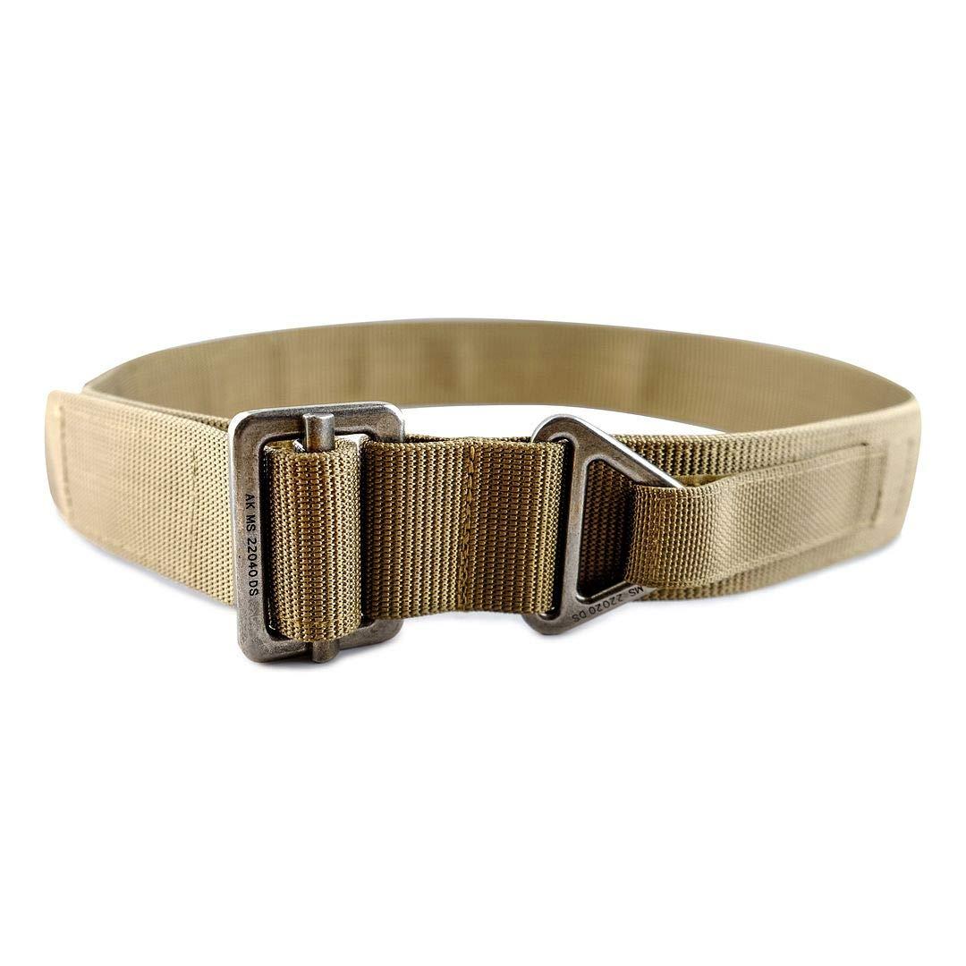 "WOLF TACTICAL Heavy Duty Riggers Belt - Stiffened 2-Ply 1.75"" Nylon EDC Gun Belt"