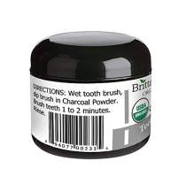 Organic Charcoal Teeth Whitening Powder - The Only USDA Certified Organic. 100% Natural Activated Charcoal. Certified Gluten Free, Vegan, Cruelty Free