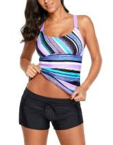 Seazoon Women's High Waisted Swimwear ONLY TOP OR ONLY Short
