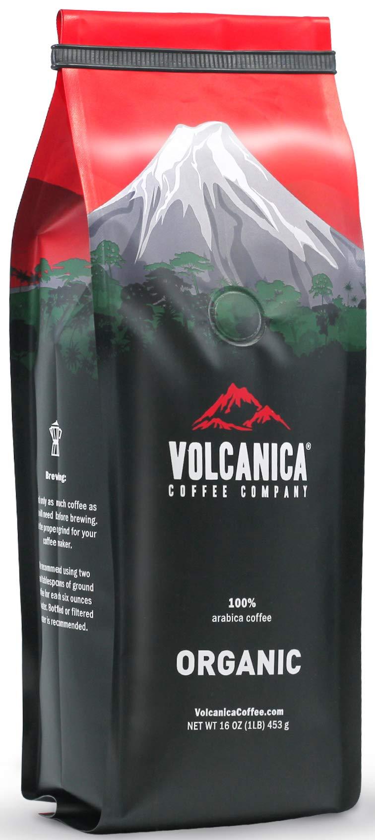 Nicaragua Coffee, Organic, Matagalpa Region, Ground, Fresh Roasted, 16-Ounce
