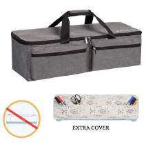 Die-Cutting Machine Carrying Bag Compatible with Cricut Explore Air and Maker, Light Weight and Foldable (Grey)