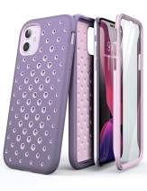 SUPCASE Unicorn Beetle Sport Series Design for iPhone 11 2019 6.1 Inch Case, [Perforated Design] Premium Hybrid Liquid Silicone Rubber and PC (Purple)