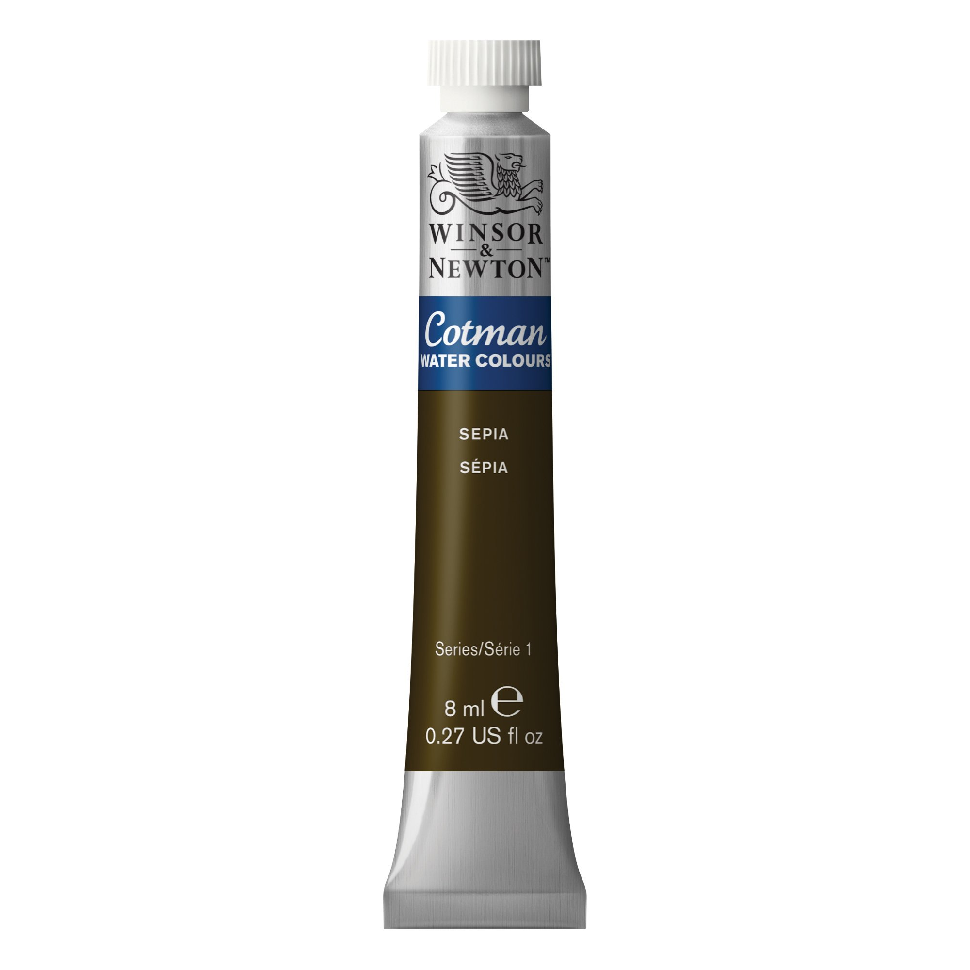 Winsor & Newton Cotman Water Colour Paint, 8ml tube, Sepia