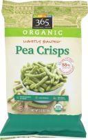 365 Everyday Value, Organic Pea Crisps, Lightly Salted, 3.3 oz