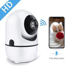 TGMEOW HD 1080p WiFi Home IP Camera, Indoor pan/tilt 2.4ghz Wireless Security Camera,Nanny with Auto Tracking, iOS, Android Compatibility, Night Vision, Two Way Audio for Baby/Elder/Pet