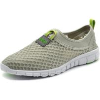 KENSBUY Women's Lightweight Slip on Mesh Shoes Quick Drying Aqua Water Shoes Athletic Sport Walking Sneaker