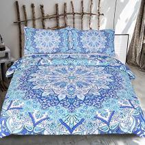 Sleepwish Bohemian Paisley Bedding Boho Rustic Bedding Mandala Bed Set (Queen)