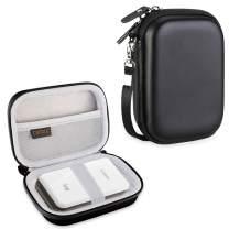 Canboc Carrying Case for Canon Ivy Mini CLIQ CLIQ+ Instant Camera Printer Wireless Bluetooth Mobile Portable Photo Printe, Black