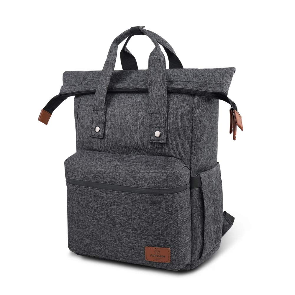 Baby Diaper Bag Backpack - Pipi bear Waterproof Large Maternity Nappy Bag for Travel
